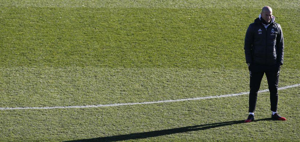 Foto: Zidane pasará a convertirse en uno de los entrenadores mejor pagados del mundo. (EFE)