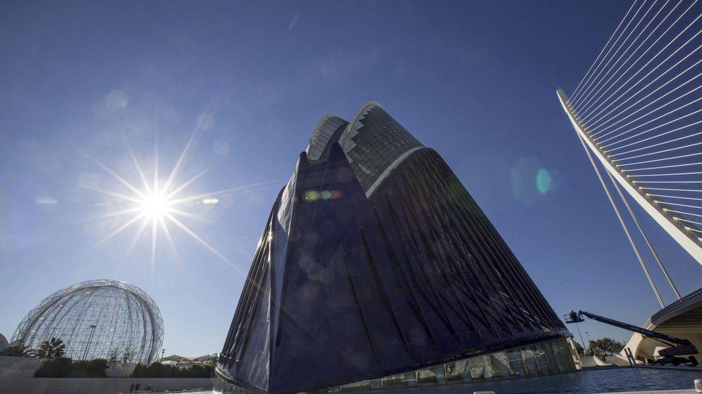 Foto: Edificio del Ágora en la Ciudad de las Ciencias de Valencia. (Efe)