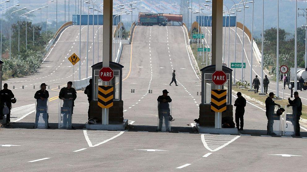 Los pasos de la frontera Colombia-Venezuela por donde podría entrar la ayuda