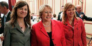 """Michelle Bachelet: """"La mujer aún es precaria en términos de derechos"""""""