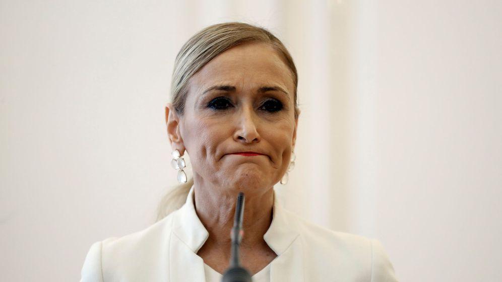 Foto: La expresidenta de la Comunidad de Madrid Cristina Cifuentes. (EFE)