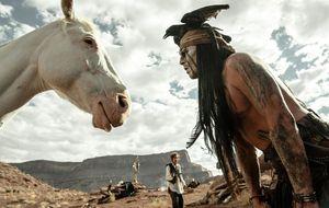 Jack Sparrow cabalga ahora por el lejano Oeste americano