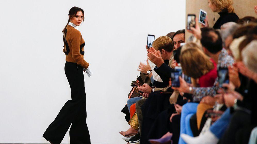 Foto: Desfile de Victoria Beckham en la Semana de la Moda de Londres (Reuters)