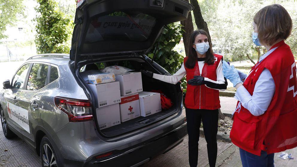 Una voluntaria llamada Letizia: su jornada de trabajo con la Cruz Roja