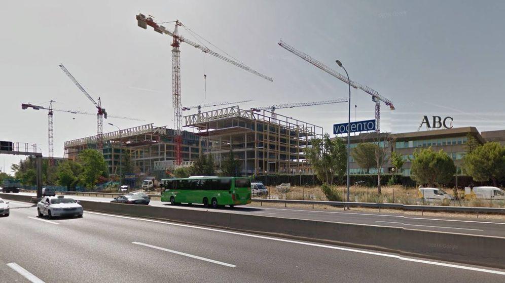 Foto: Sede de Vocento en Madrid. (Google Maps)