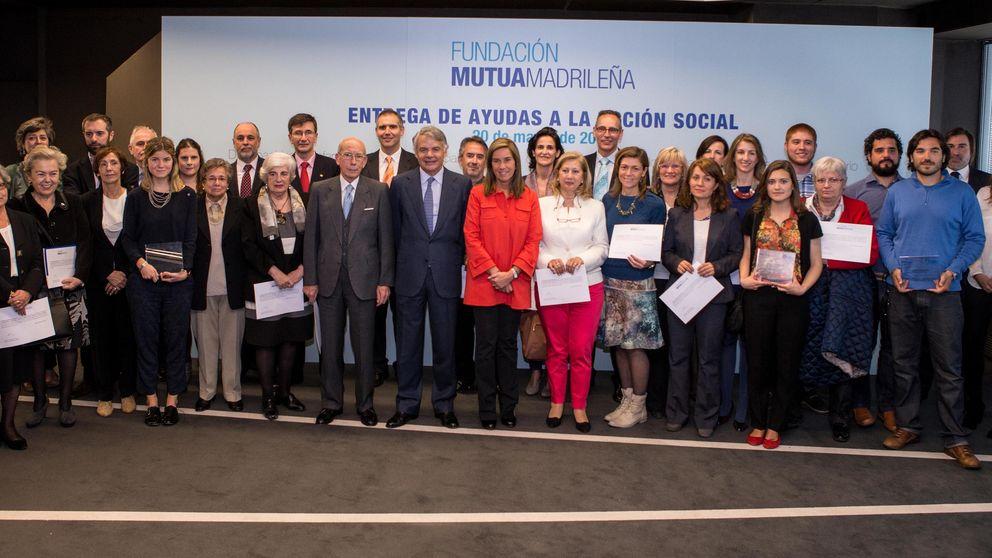Mutua Madrileña entrega ayudas por más de 600.000 € a 33 ONG