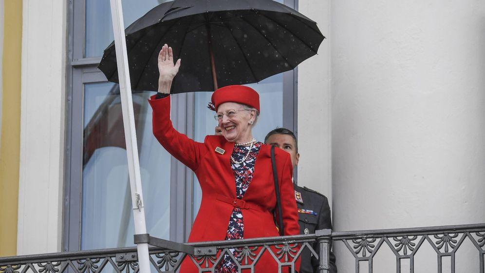Foto: La reina Margarita de Dinamarca.