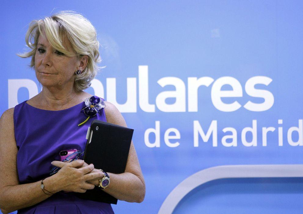 Foto: La presidenta del Partido Popular, Esperanza Aguirre (Efe)