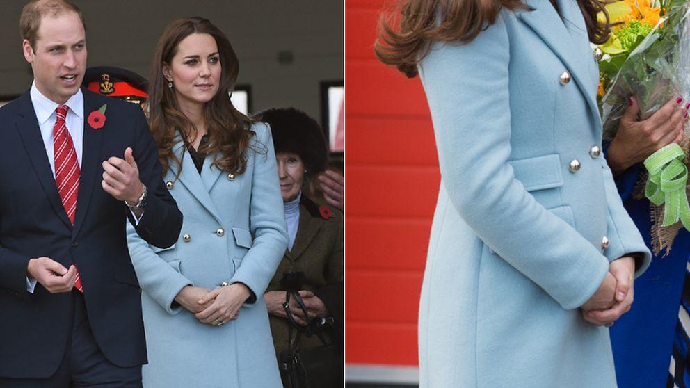 El instintivo gesto de Kate Middleton