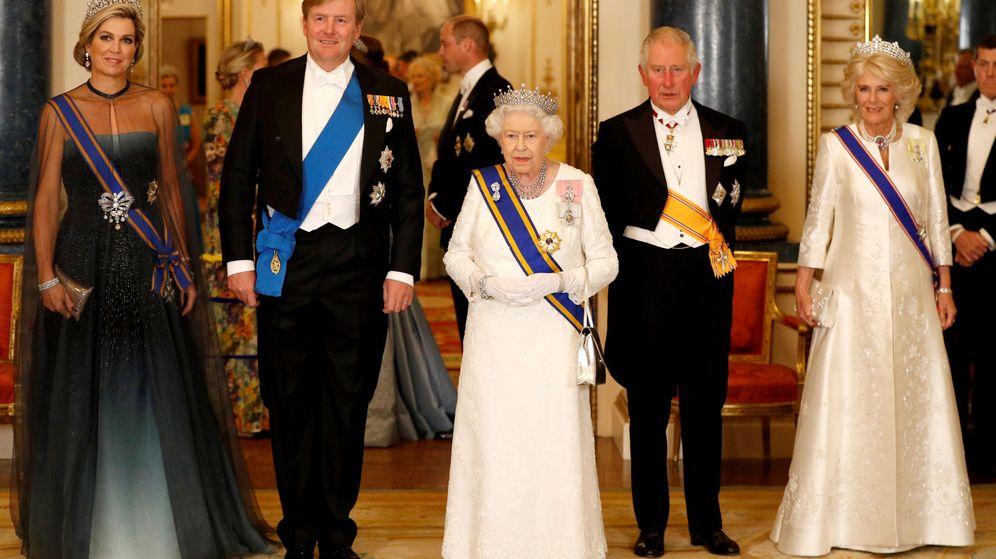 Foto: Cena de gala en el palacio de Buckingham. (Reuters)