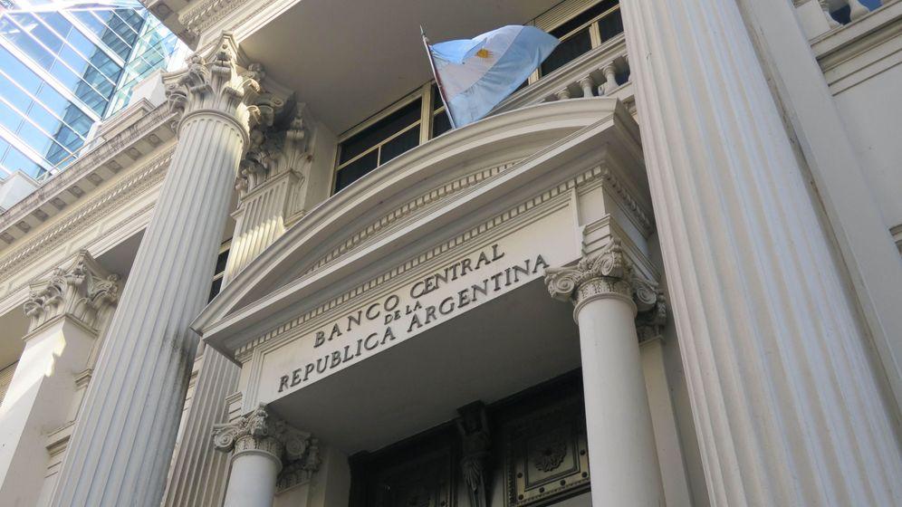 Foto: El banco central de Argentina. (EFE)