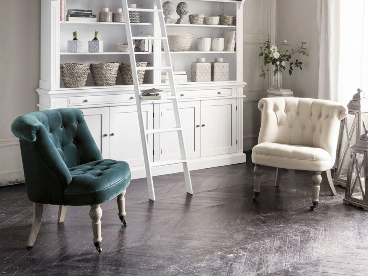 Foto: Sillones originales y diferentes de Ikea y Maisons du Monde. (Cortesía de Maisons du Monde)