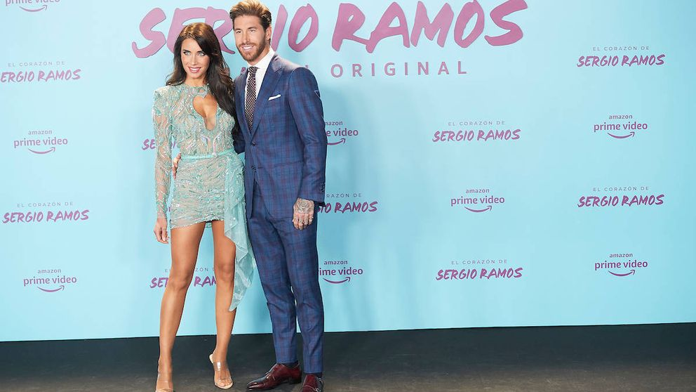 Sergio Ramos y Pilar Rubio se rodean de celebs en la presentación de su documental