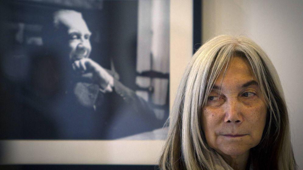 Foto: María Kodama, viuda de Jorge Luis Borges. Foto: EFE/Román Ríos.