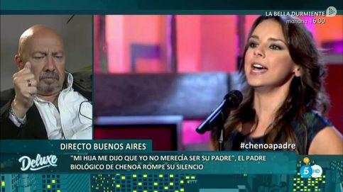 El padre biológico de Chenoa: Si no me quiere que lo diga, pero que no me ignore