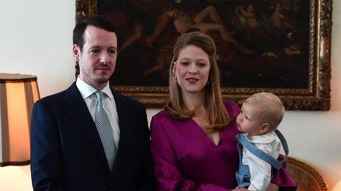 Bautizo por todo lo alto de Stefan, el hijo del príncipe de Serbia