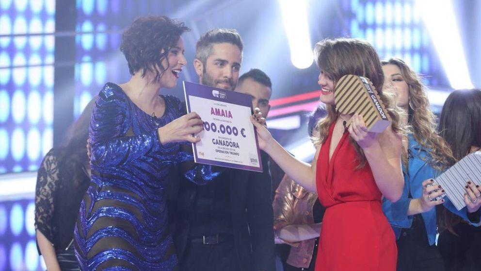 Artistas españoles felicitan a Amaia como ganadora de 'OT 2017'