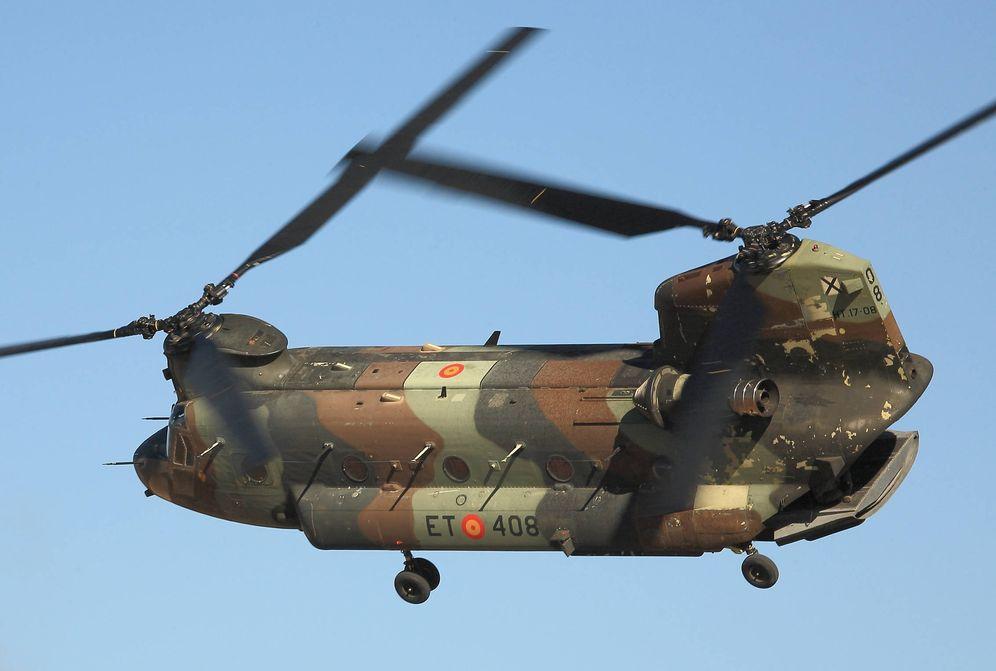 Foto:  Pese a su gran tamaño este helicóptero tiene una agilidad asombrosa. (Foto: Juanjo Fernández)