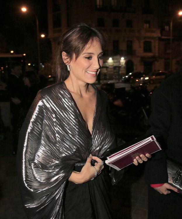 Foto: Tamara Falcó antes de la gala de premios. (Gtres)