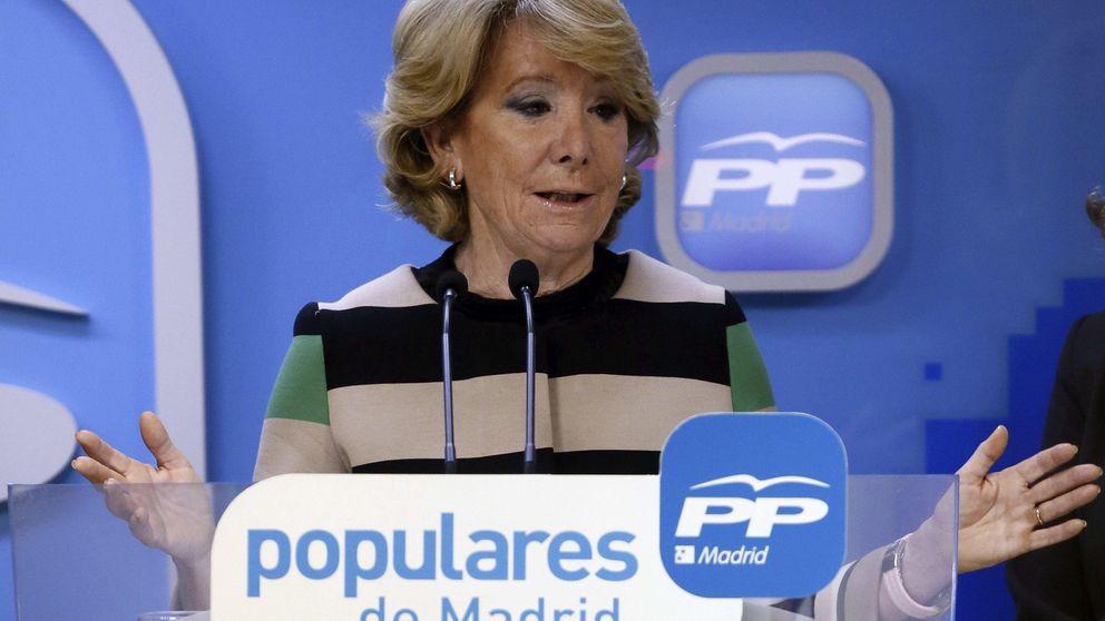 Aguirre dice que le gustaría que Ciudadanos, Vox y UPyD formaran parte del PP