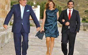 Jaime de Marichalar y Alberto Ruiz Gallardón, juntos en la boda de Elisabeth Horcher
