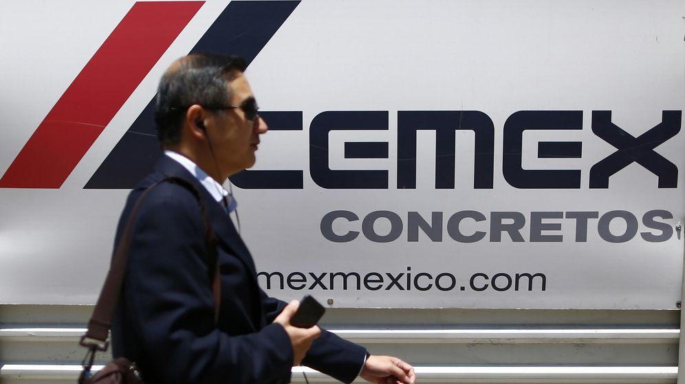 Foto: Logo de la compañía mexicana Cemex. (Reuters)