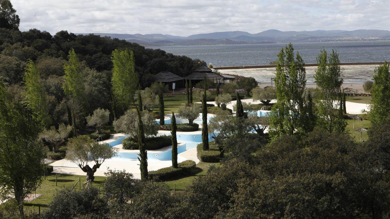 Vista actual de Valdecañas.