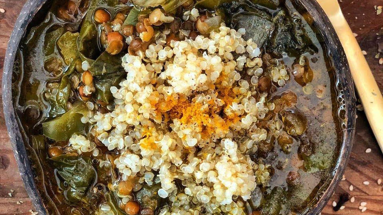 Lentejas con quinoa y acelgas: un plato perfecto contra la grasa abdominal