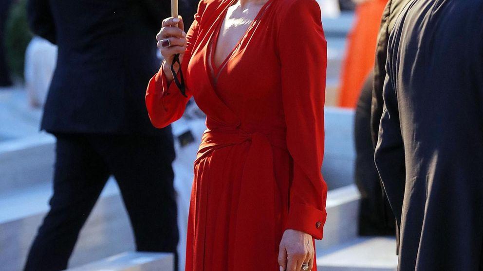 Catherine Zeta-Jones opta por el corte de pelo que te quita 15 años