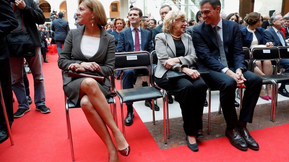 Foto: Acto conmemorativo del Día de la Comunidad de Madrid. (EFE)