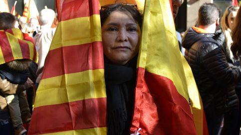 """Españolistas en Girona: """"Nosotros sí que vivimos en una dictadura"""""""