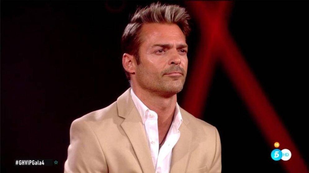 Foto: Hugo Castejón, en 'GH VIP 7'. (Telecinco)