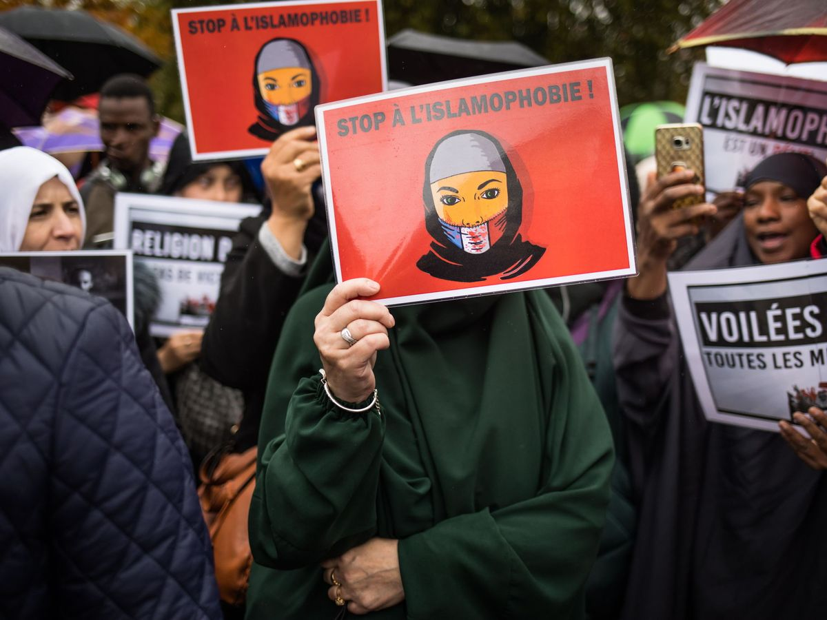 Foto: Una protesta en Francia (EFE)