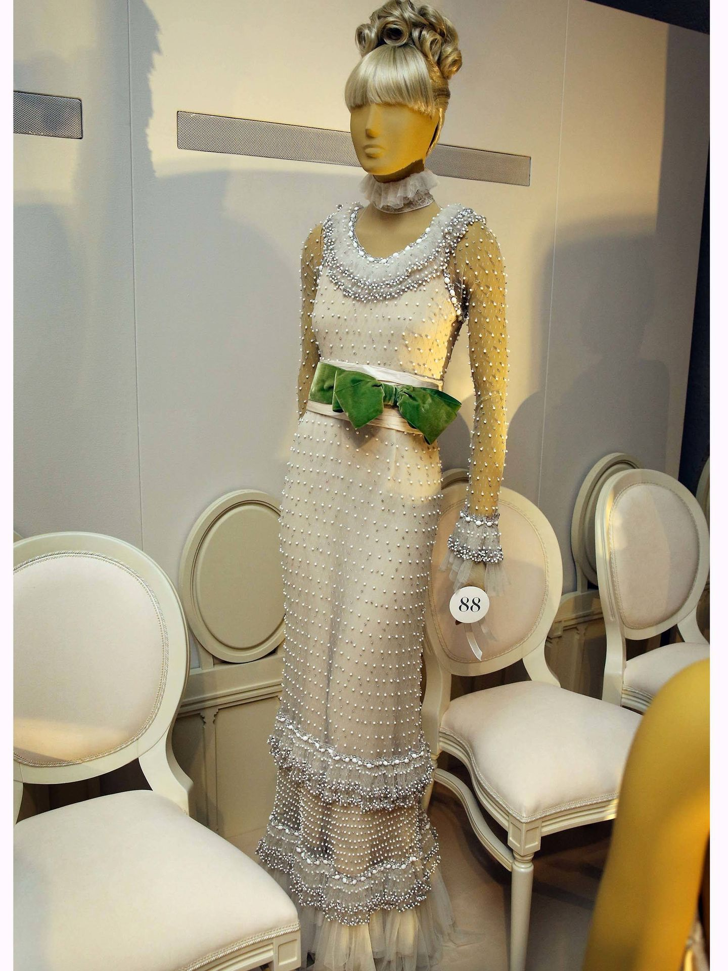 'Valentino: Master of Couture'. (Getty)