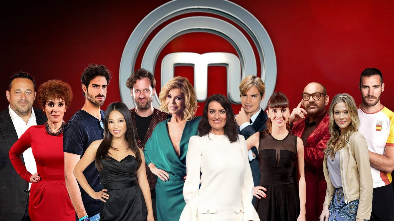 Todos los concursantes de 'MasterChef Celebrity 2': de Baute a Bibiana Fernández