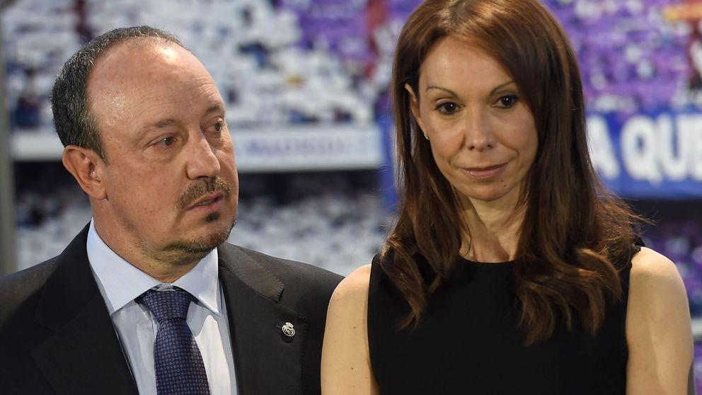 La mujer de Rafa Benítez, una activista solidaria en el vestuario del Real Madrid