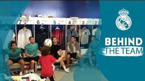 El hijo de Marcelo, Enzo, revoluciona el vestuario del Madrid