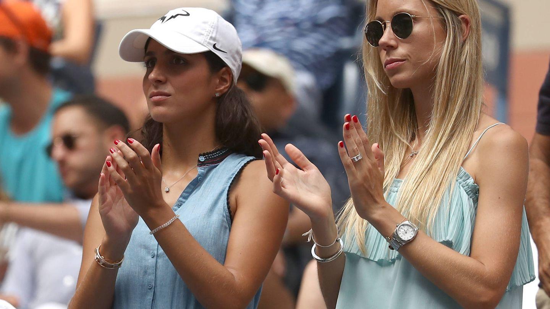 Las cuñadas, en un torneo en Nueva York. (Getty)