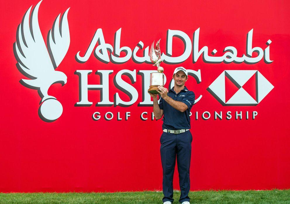 Foto: Gary Stal ganó el Abu Dhabi HSBC Golf Championship (Reuters)