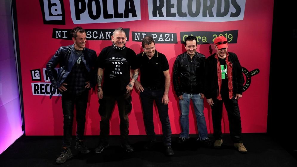 Foto: La Polla Records regresa después de 16 años (EFE)