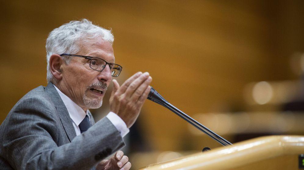 Foto: El exsenador de ERC Santiago Vidal en una foto de archivo previa a su renuncia. (EFE)