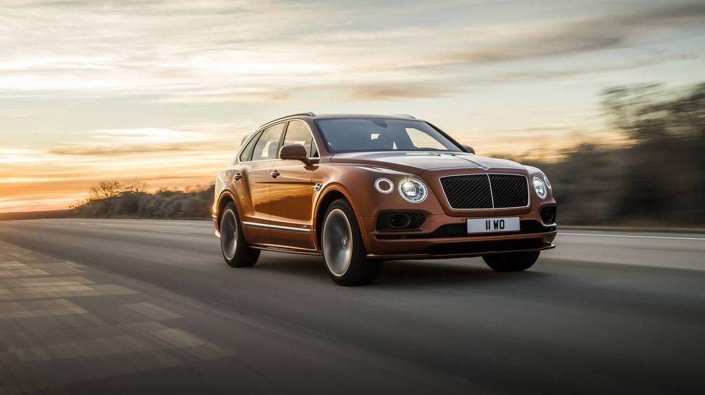 Foto: El nuevo Bentley Bentayga Speed se posiciona como el todocamino más rápido y potente pero sin renunciar al máximo lujo.