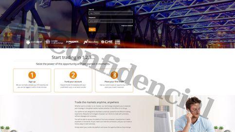 Así era la web que estafó 150.000€ a Borrell: un chiringuito que especulaba con divisas