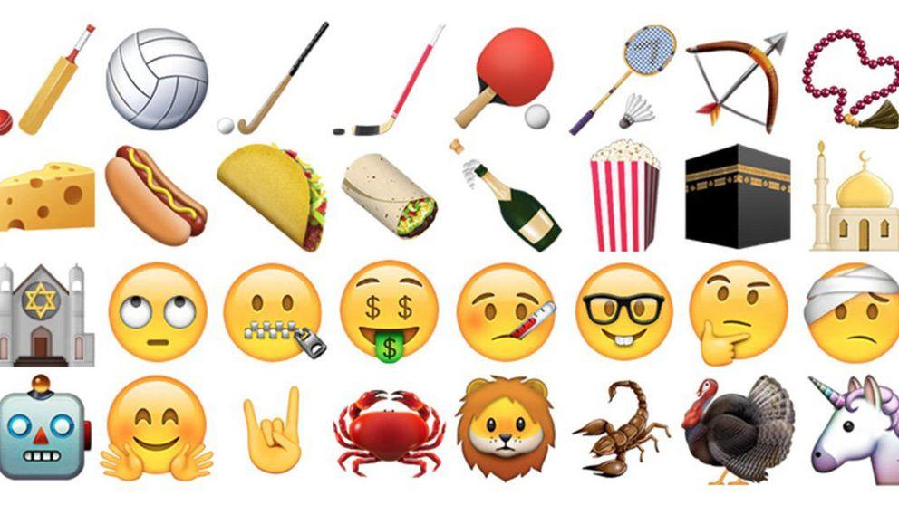 Tacos, cuernos y palomitas, los nuevos emojis que llegan al iPhone