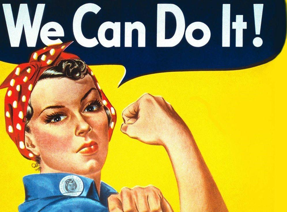 Foto: Cartel propagandístico estadounidense de la II Guerra Mundial