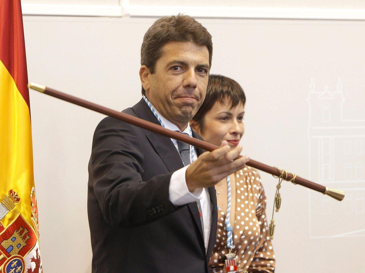 Foto: Carlos Mazón, cuando fue designado presidente de la Diputación de Alicante. (EFE)