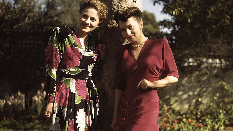 Joan Fontaine y Olivia de Havilland. (Cordon Press)