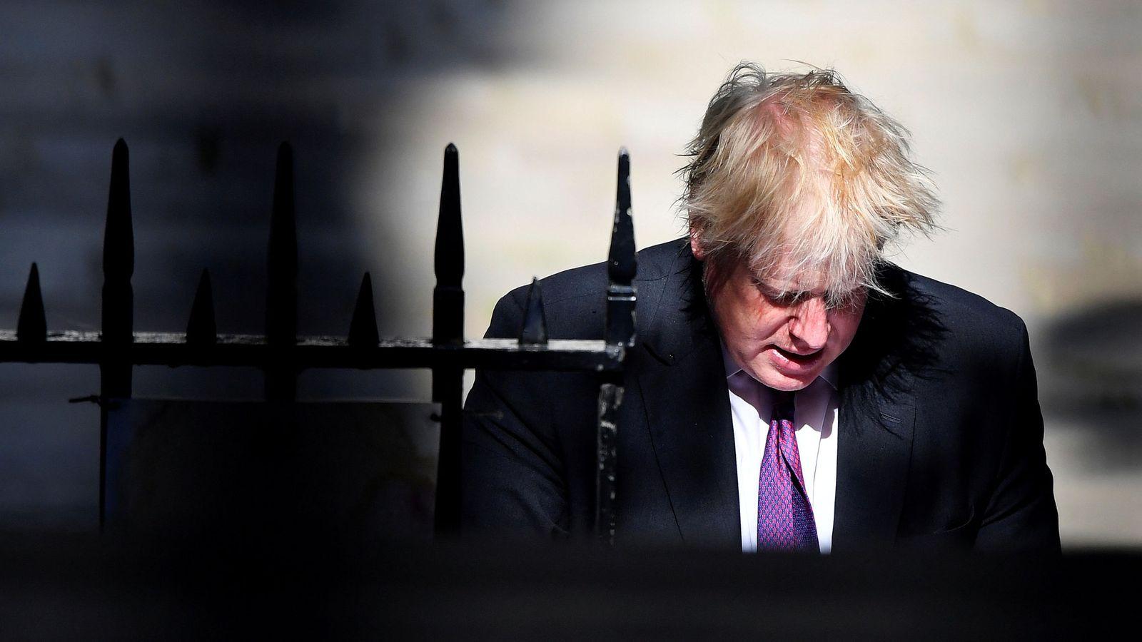 Foto: Boris Johnson, ex responsable de la diplomacia británica, en Londres. (Reuters)