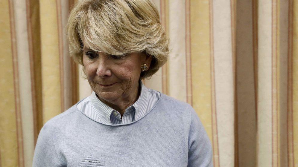 Foto: La expresidenta de la Comunidad de Madrid Esperanza Aguirre, imputada por la trama Púnica. (EFE)