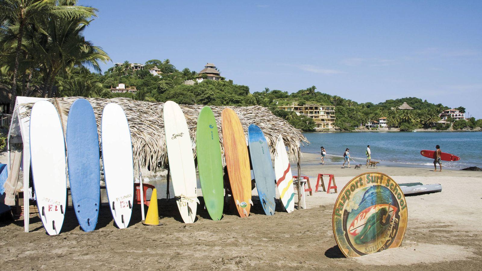 Foto: Sayulita es la playa escondida (y mágica) de México.